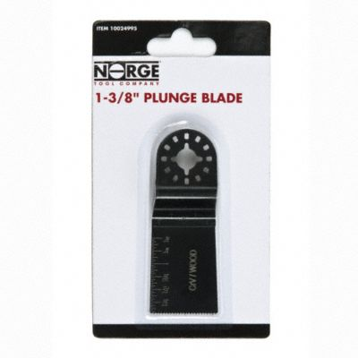 1-3/8&#034; HCS Plunge Blade